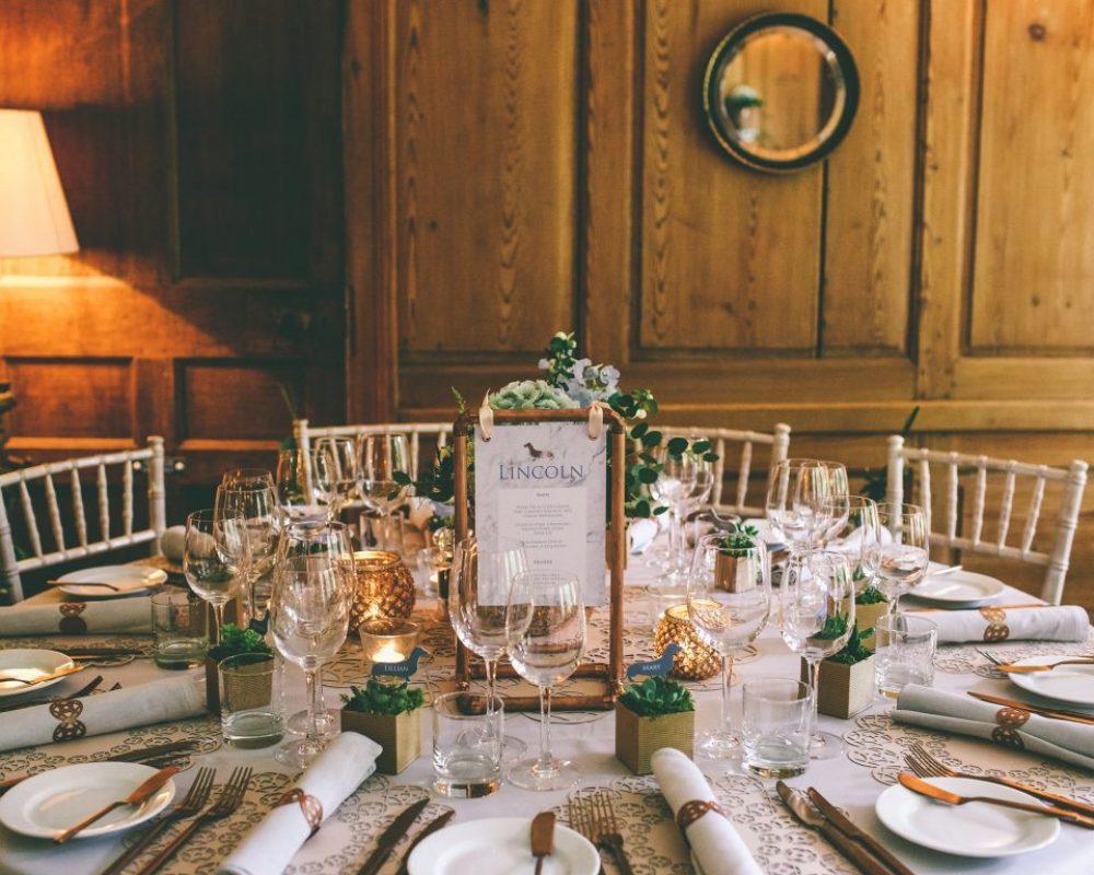 copper-blush-blue-wedding-table