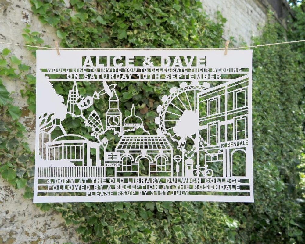 london-laser-cut-wedding-invite