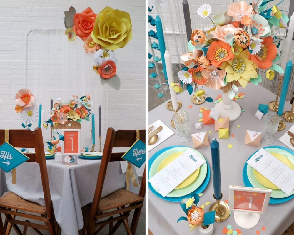 mid-centruy-inspired-wedding-table