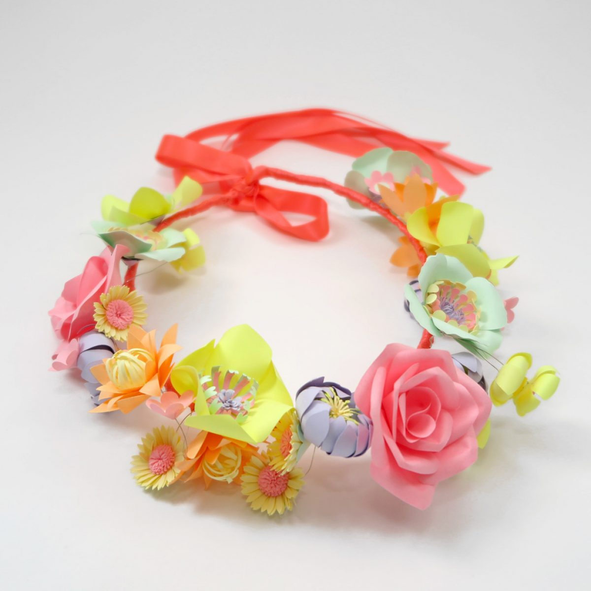 neon-paper-flower-crown- 7
