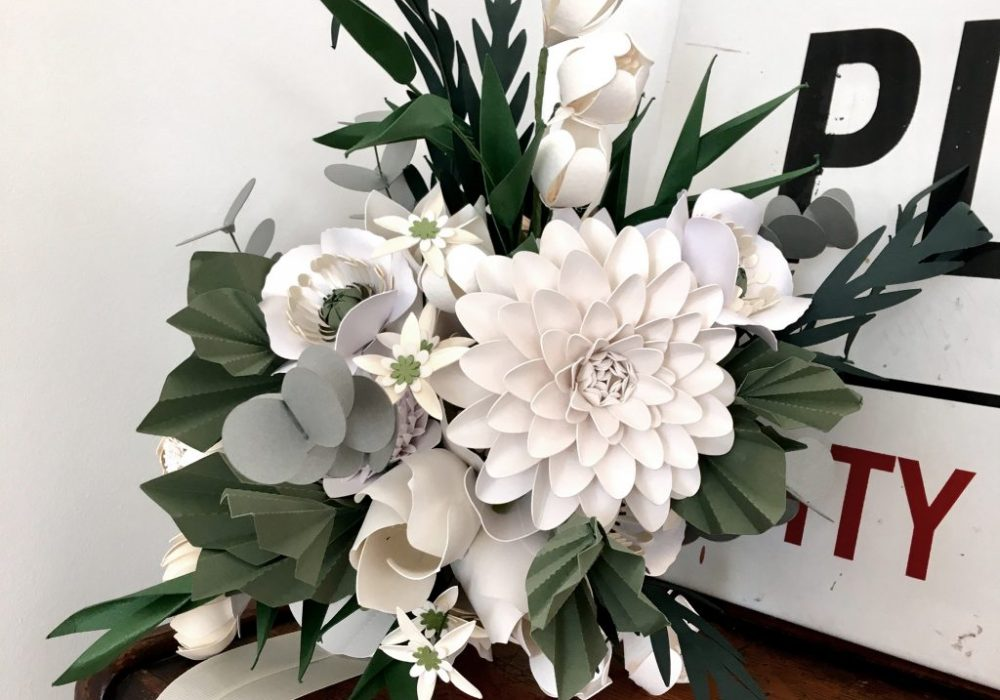 white-paper-flower-bouquet